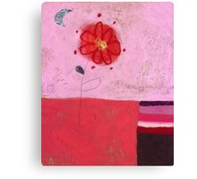 The red daisy Canvas Print