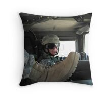 Convoy Driver Throw Pillow