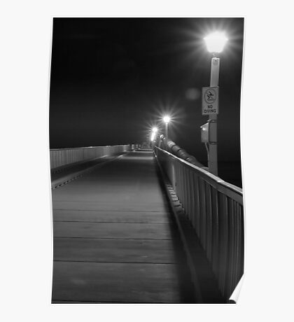 Boardwalk by Night Poster