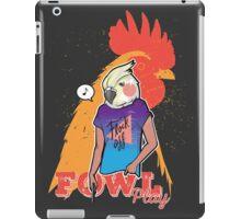 Flock off iPad Case/Skin