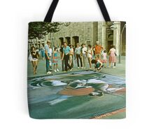 Sidewalk Art. Tote Bag