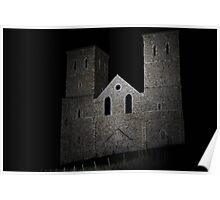 Reculver by Night Poster