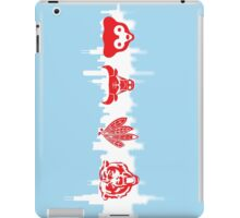 Chicago Flag with Teams Vertical 2 iPad Case/Skin