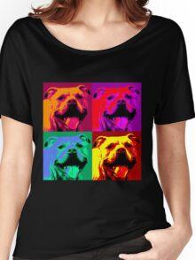 Pit Bull Pop Art Women's Relaxed Fit T-Shirt