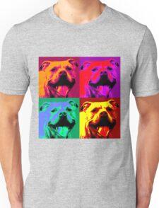 Pit Bull Pop Art Unisex T-Shirt