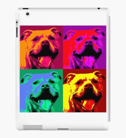 Pit Bull Pop Art iPad Case/Skin