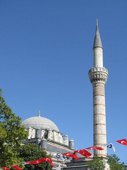 Minaret of Bayezit Mosque by rasim1