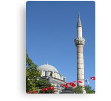 Minaret of Bayezit Mosque Canvas Print