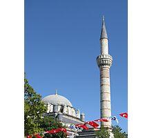 Minaret of Bayezit Mosque Photographic Print