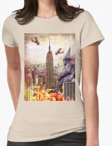Vintage Kong Womens Fitted T-Shirt