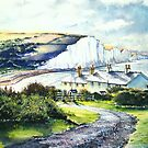 """Cuckmere Haven """"A valley of Light """" by LorusMaver"""