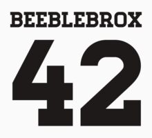 Beeblebrox Sports Jersey by becktacular