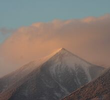 Sunset Snowstorm by Vicki Hudson