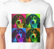 Beagle Pop Art Unisex T-Shirt