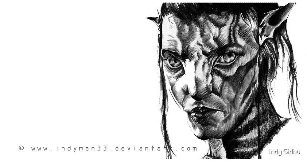 Jake Sully, Avatar. by IndyMan33