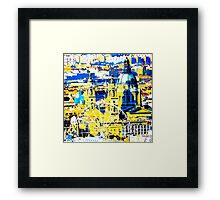 Budapest: Basilica and the Eye - in colour  Framed Print
