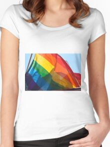 PRIDE  Women's Fitted Scoop T-Shirt