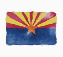Watercolor Arizona Flag by jay-p