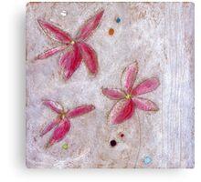 Floating Lotuses Canvas Print