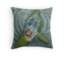Ralph the carp Throw Pillow