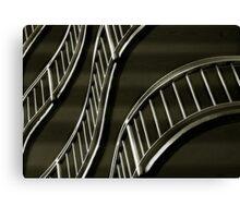 Stair Wave Canvas Print