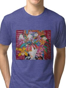 Orchids of Tuscany... Tri-blend T-Shirt