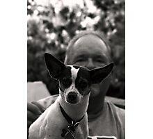 Doug and Buster Photographic Print
