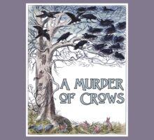 A Murder of Crows Kids Tee