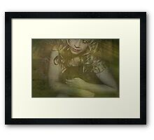 Clutching You To My Heart Framed Print