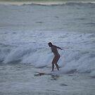 Surfing Kauai by Dennis Begnoche Jr.