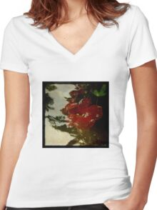 Ophelia Women's Fitted V-Neck T-Shirt