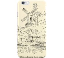 Snowdrop & Other Tales by Jacob Grimm art Arthur Rackham 1920 0190 To the Mill iPhone Case/Skin