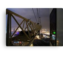Indy Skyline Canvas Print