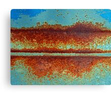intersection of earth and sky......... Canvas Print