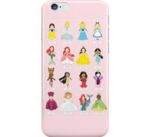 Pretty Pink Princesses iPhone Case/Skin