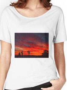 Vibrant Sky Women's Relaxed Fit T-Shirt