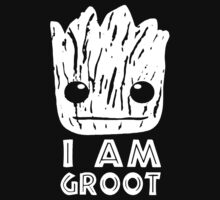 GUARDIANS OF THE GALAXY I AM GROOT FACE Kids Clothes