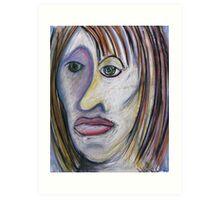 Morna Girl Art Print