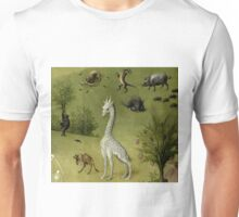Hieronymus Bosch - Garden of Earthly Delights - Detail #2a Unisex T-Shirt