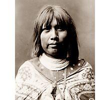 Native American Portrait: O Che Che - Mohave Woman Photographic Print