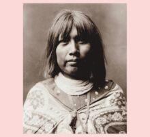 Native American Portrait: O Che Che - Mohave Woman Baby Tee