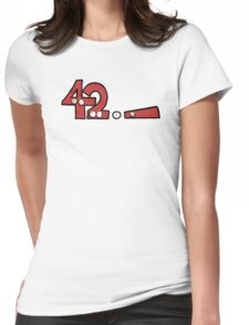 Forty-Two Womens Fitted T-Shirt