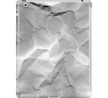 crumpled iPad Case/Skin