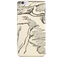 The Trail Book by Mary Hunter Austin art Milo Winter 1918 0120 Sign of the Sun and The Four Quarters iPhone Case/Skin