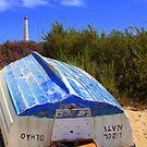 Run aground despite the lighthouse by Christine Oakley