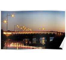 Edwards Bridge, Warrnambool Poster
