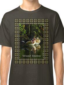 Wood Ducks at Homosassa Springs, Florida Classic T-Shirt