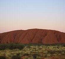 Uluru Skyscape by Jillian Holmes