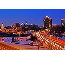 Plaza Lights Kansas City, Missouri Photographic Print