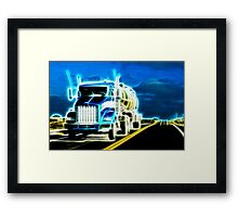 On The Road Again Framed Print